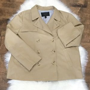 J. Crew size 12 Blazer Coat Women's Khaki